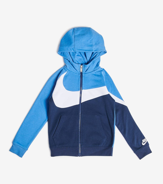 Nike  Boys Full Zip Hoodie  Navy - 86E852-U90 | Jimmy Jazz