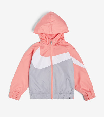 Nike  Boys' Oversized Swoosh Windrunner  Pink - 86E884G-AB3 | Jimmy Jazz