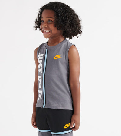 Nike  Just Do It Jersey Tank Top  Grey - 86F030-G1A | Jimmy Jazz