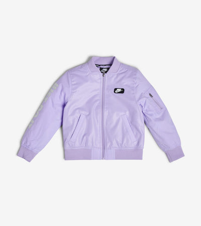 Nike  Boys' Lightweight Padded Bomber  Purple - 86F253G-P33 | Jimmy Jazz