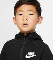 Nike  Boys NSW Tech Fleece Full Zip Hoodie  Black - 86F287-023 | Jimmy Jazz