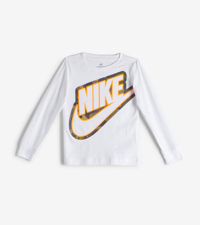 Nike  Boys 4-7 Futura Outline Camo Tee   White - 86F873-001 | Jimmy Jazz