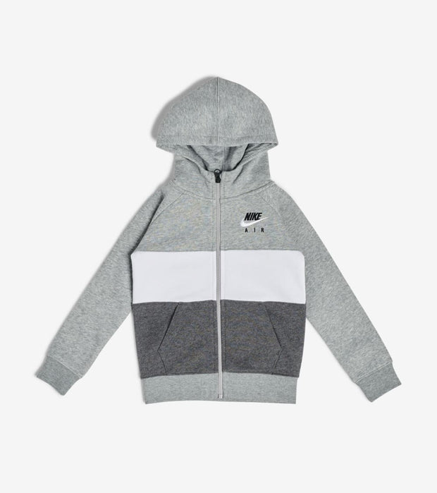 Nike  Boys' NSW Air Fleece Hoodie  Grey - 86F973-042 | Jimmy Jazz