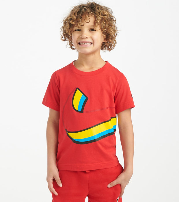 Nike  Boys 4-7 Swoosh Knockout Tee  Red - 86G140-U10 | Jimmy Jazz