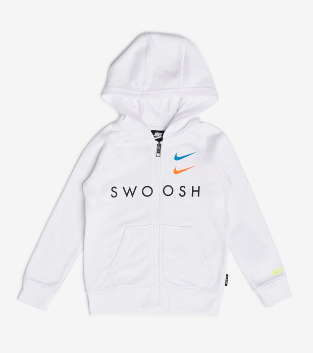 Nike  Boys NSW Swoosh Hoodie  White - 86G341-001 | Jimmy Jazz