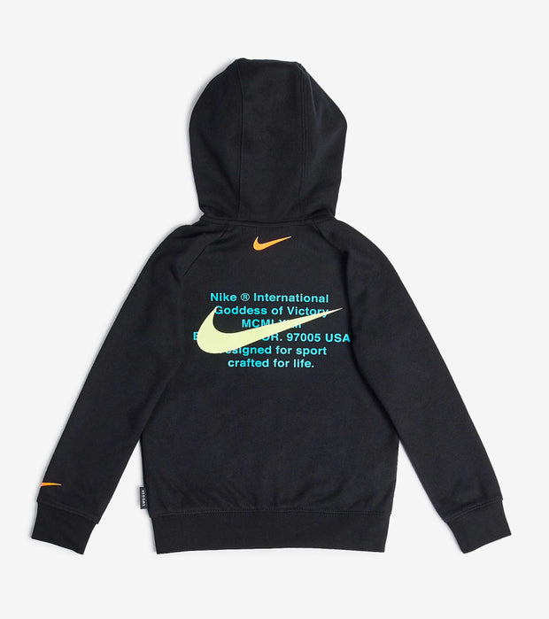 Nike  Boys NSW Swoosh Hoodie  Black - 86G341-023 | Jimmy Jazz