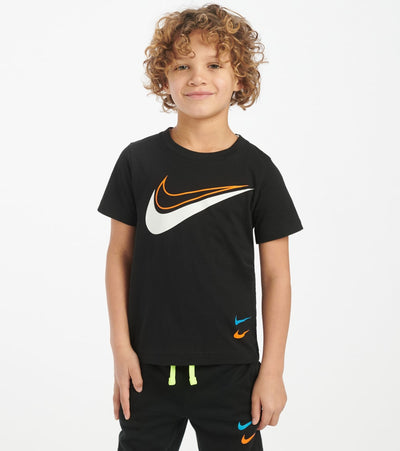 Nike  Boys 4-7 Swoosh Sport Style Tee  Black - 86G351-023 | Jimmy Jazz