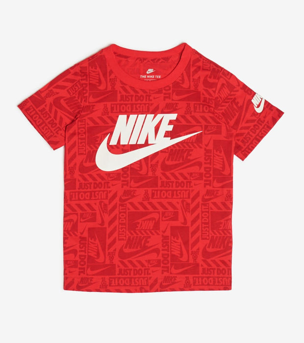 Nike  Boys Brand Toss Tee  Red - 86G507-U10 | Jimmy Jazz