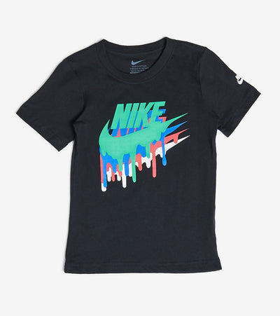 Nike  Boys Melted Crayon Short Sleeve Tee  Black - 86G625-023 | Jimmy Jazz