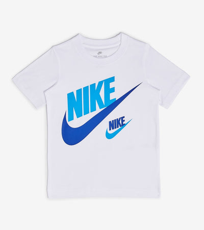 Nike  Boys Double Futura Tee  White - 86G667-001 | Jimmy Jazz