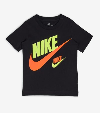 Nike  Boys Double Futura Tee  Black - 86G667-023 | Jimmy Jazz