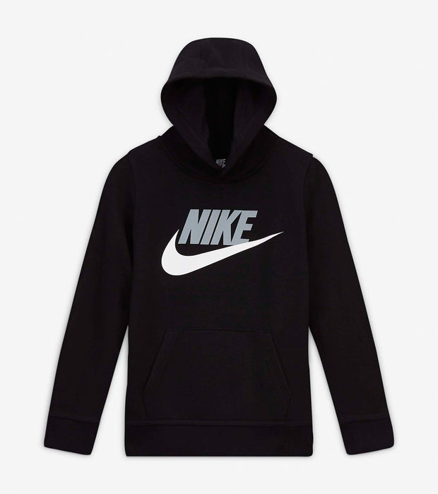 Nike  Boys Club Fleece Pullover Hoodie  Black - 86G703-023 | Jimmy Jazz