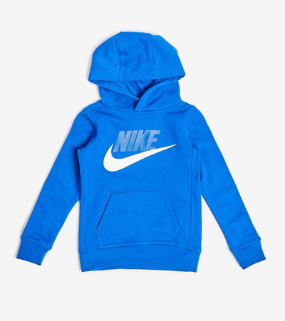 Nike  Boys Club Fleece Pullover Hoodie  Blue - 86G703-U89 | Jimmy Jazz
