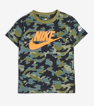 Nike  Nike Boys Camo Tee  Green - 86H129-E6F | Jimmy Jazz