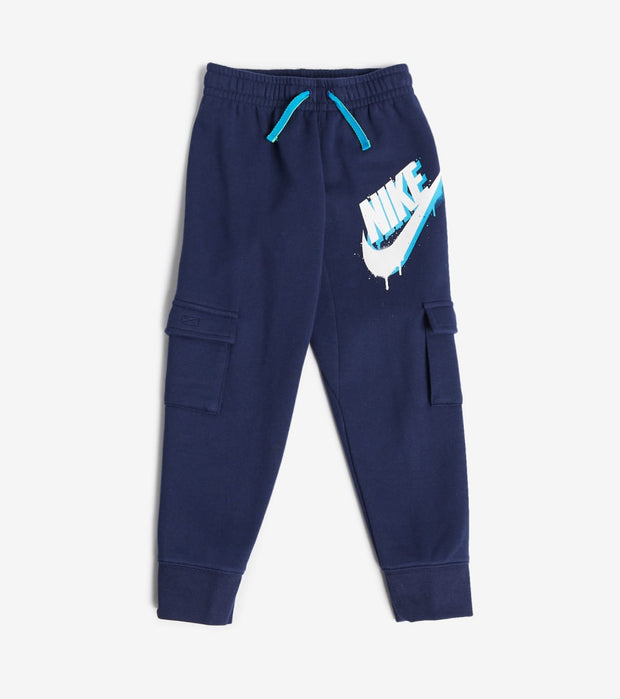 Nike  Boys Fleece Cargo Jogger Pants  Navy - 86H198-U90 | Jimmy Jazz