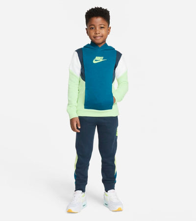 Nike  Boys Amplify Hoodie  Green - 86H481-E54 | Jimmy Jazz