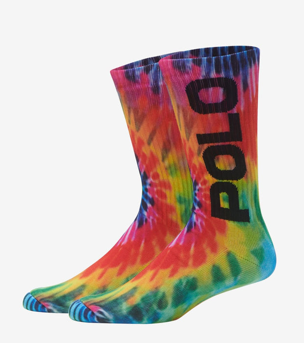 Polo  Tie-Dye Crew Socks  Multi - 889208-903 | Jimmy Jazz