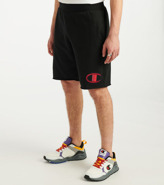 Champion  Floss Stitch Shorts  Black - 89597GY07981-003 | Jimmy Jazz