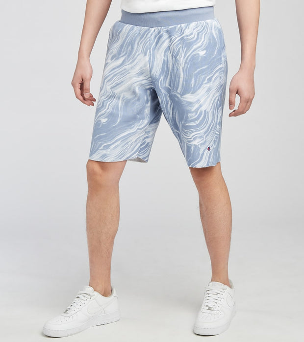 Champion  Reverse Weave Marble Print Cutoff Shorts  Multi - 89597P-A53C | Jimmy Jazz
