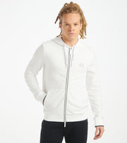 Armani Exchange  AX Basic Zip Hoodie  White - 8NZM74 Z9N1Z-1100 | Jimmy Jazz