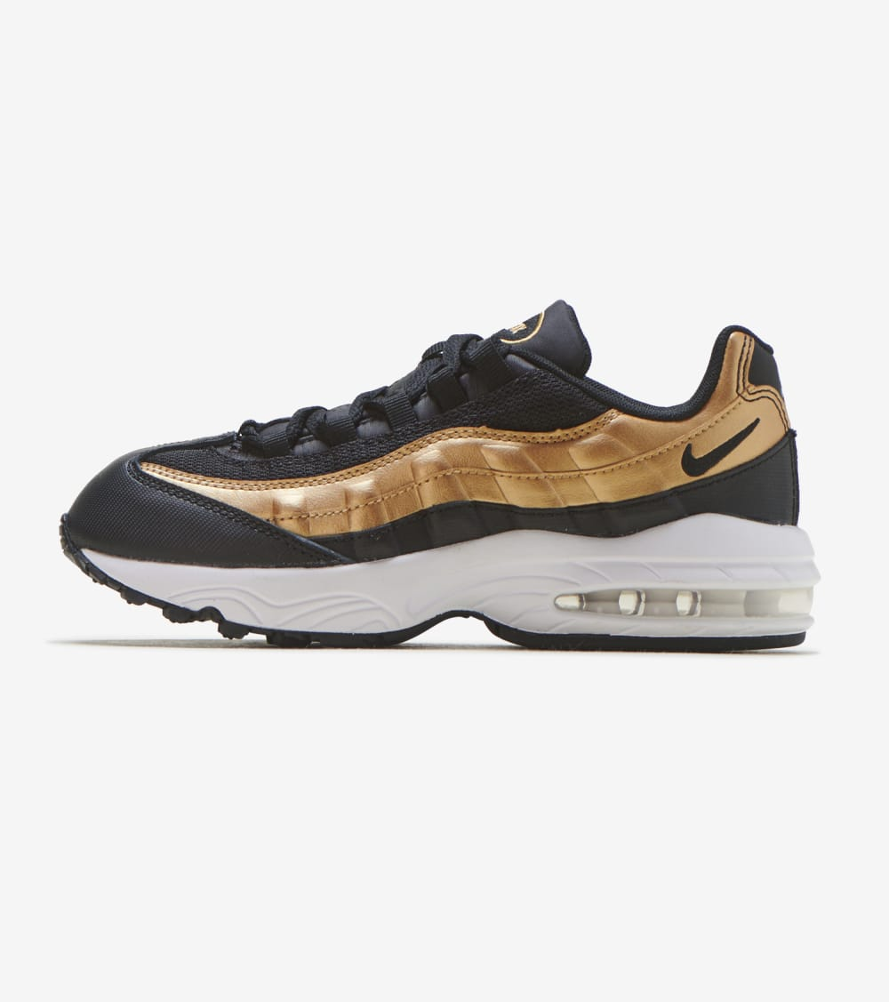 Nike Air Max 95 Shoes in Black/Gold