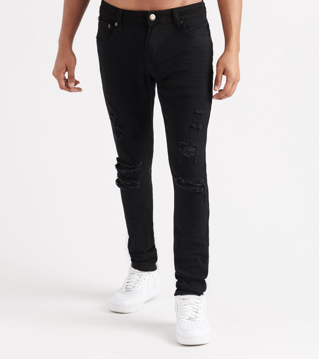 Decibel  Twill Rip n' Crinkle Pants  Black - 913211-BLK | Jimmy Jazz