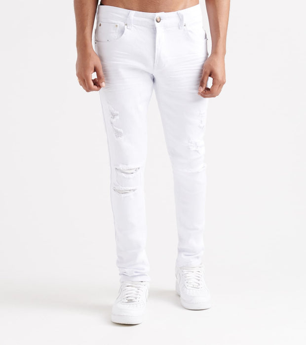Decibel  Twill Rip N Crinkle Pants - L30  White - 913211L30-WHT | Jimmy Jazz