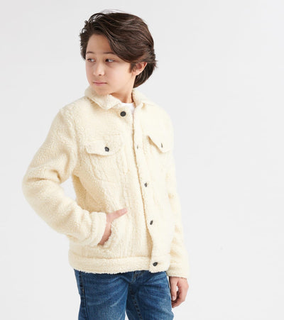 Levis  Sherpa Trucker Jacket  Beige - 919006-X03 | Jimmy Jazz