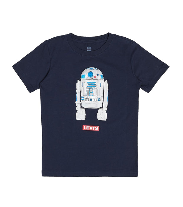 Levis  Boys Star Wars R2 D2 Tee  Black - 91B450-695 | Jimmy Jazz