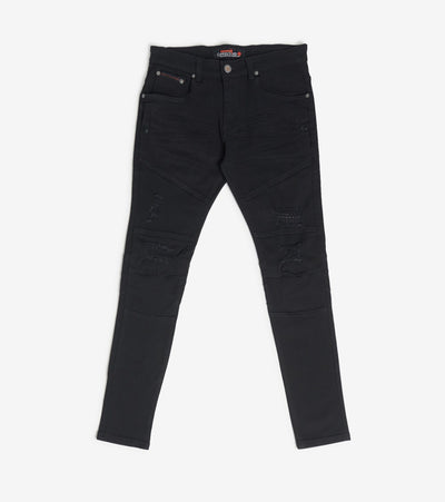Decibel  Side Pocket Twill Pants  Black - 933208-BLK | Jimmy Jazz