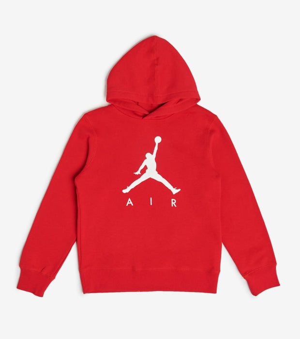Jordan  Boys Jumpman Fleece Pullover  Red - 955212-R78 | Jimmy Jazz