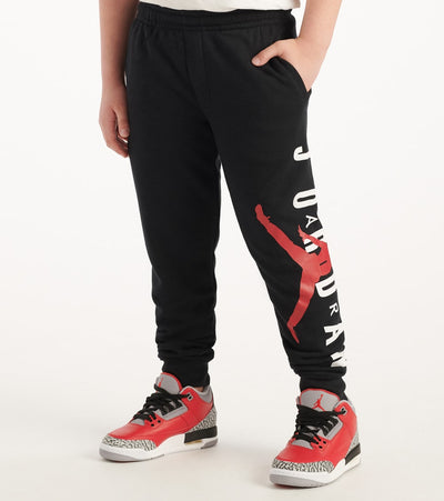 Jordan  Boys Jumpman Air Pants  Black - 955840-023 | Jimmy Jazz