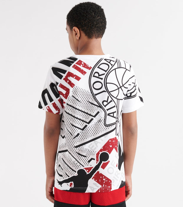 Jordan  Wings Logo Up Tee  White - 956181-W1X | Jimmy Jazz
