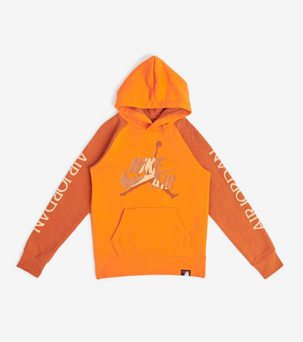 Jordan  Jumpman Classics Pullover Hoodie  Orange - 956286-N4V | Jimmy Jazz
