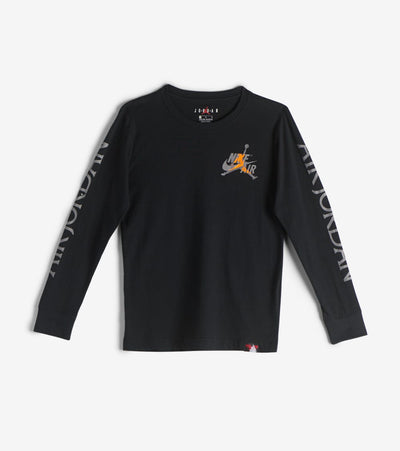 Jordan  8-20 Air Jordan Long Sleeve Crewneck Tee  Black - 956308-023 | Jimmy Jazz
