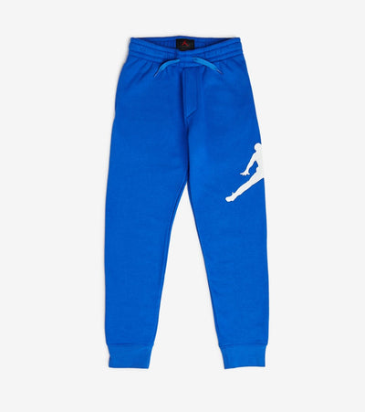 Jordan  Boys Jumpman Logo Fleece Pants  Blue - 956327-U5H | Jimmy Jazz