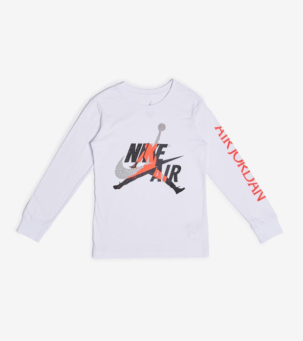 Jordan  Boys Jumpman Classic Graphic Tee  White - 956898-001 | Jimmy Jazz