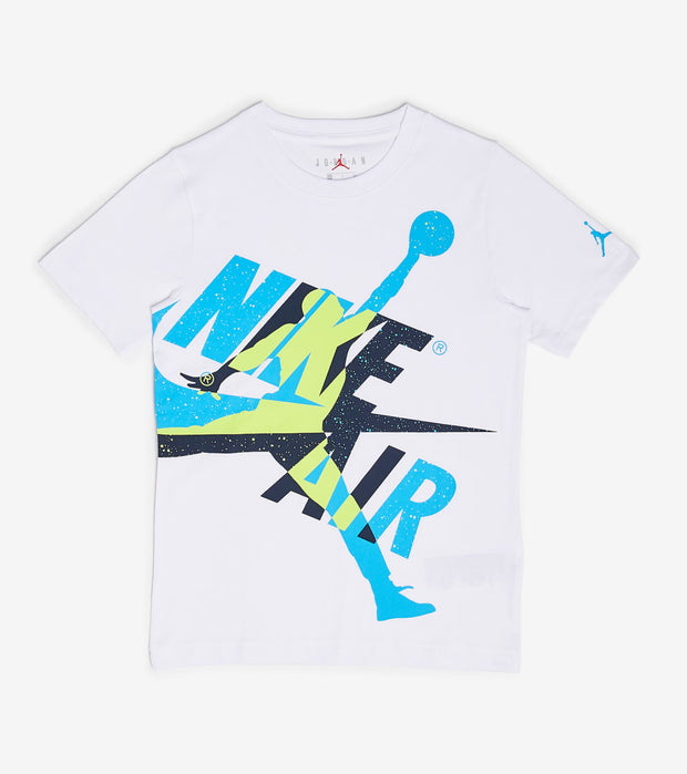 Jordan  Boys Jumpman Oversized Graphic  White - 956901-WU4 | Jimmy Jazz