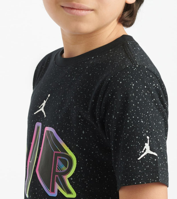 Jordan  Boys 8-20 Air Shuttle Tee  Black - 956935-023 | Jimmy Jazz