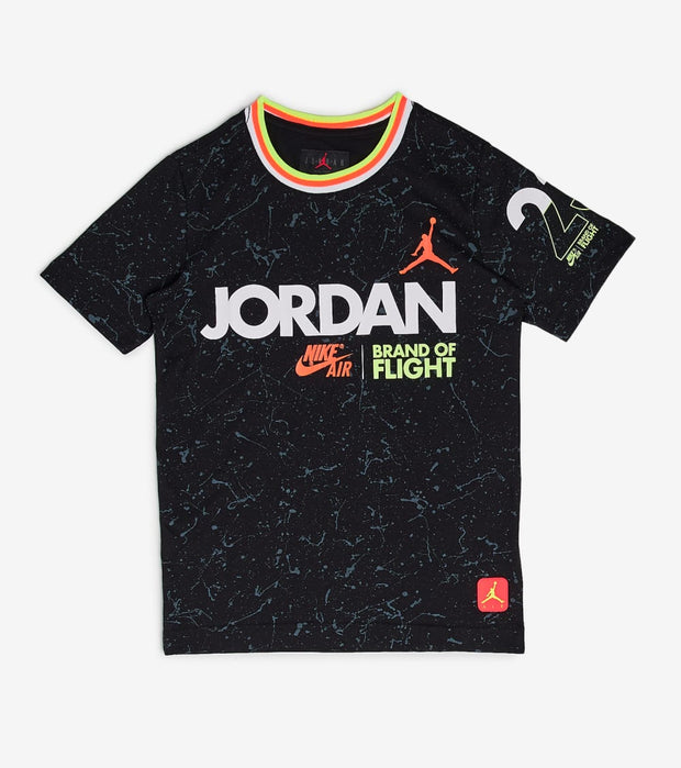 Jordan  Boys School Of Flight Tee  Black - 957419-023 | Jimmy Jazz