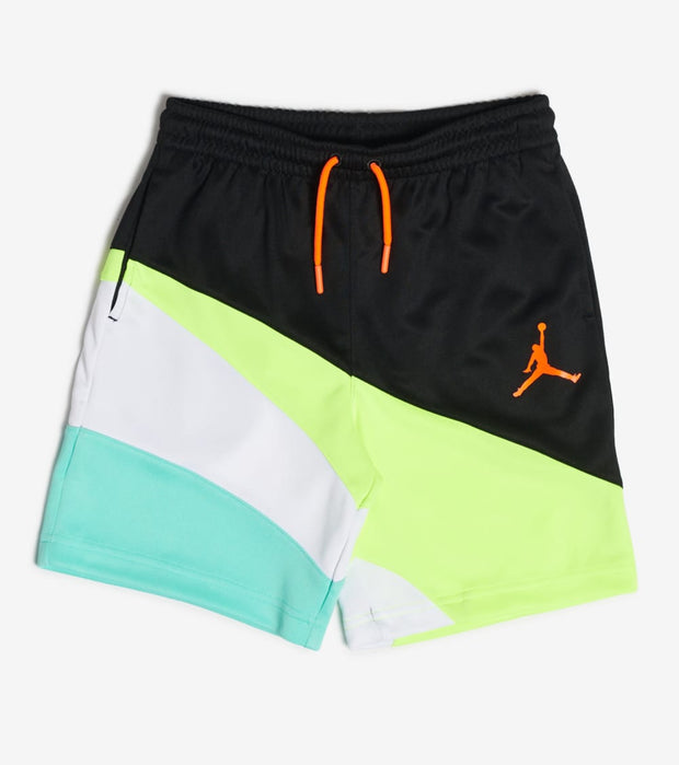 Jordan  Boys Jumpman Wave Shorts  Black - 957715-K25 | Aractidf