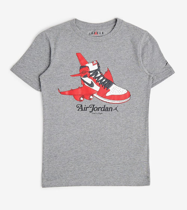 Jordan  Boys Air Jordan 1 Takeoff Tee  Grey - 958000-GEH | Jimmy Jazz