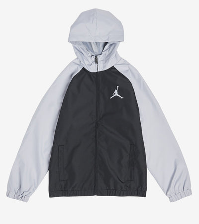 Jordan  Boys Jumpman Windbreaker Jacket   Grey - 958025-G3A | Jimmy Jazz