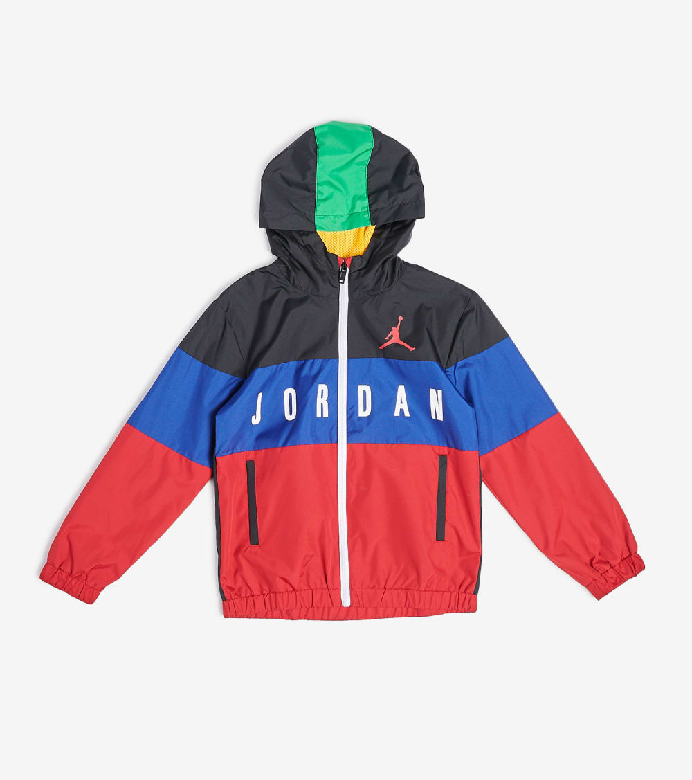 Jordan  Boys Legacy of Sport Wind Jacket  Multi - 95A036-F69 | Jimmy Jazz