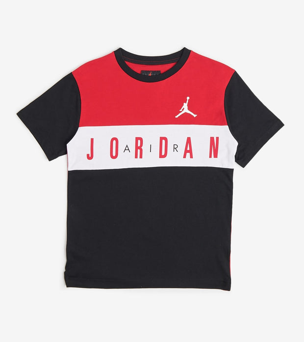 Jordan  Boys Air Jordan Tee  Black - 95A038-023 | Jimmy Jazz