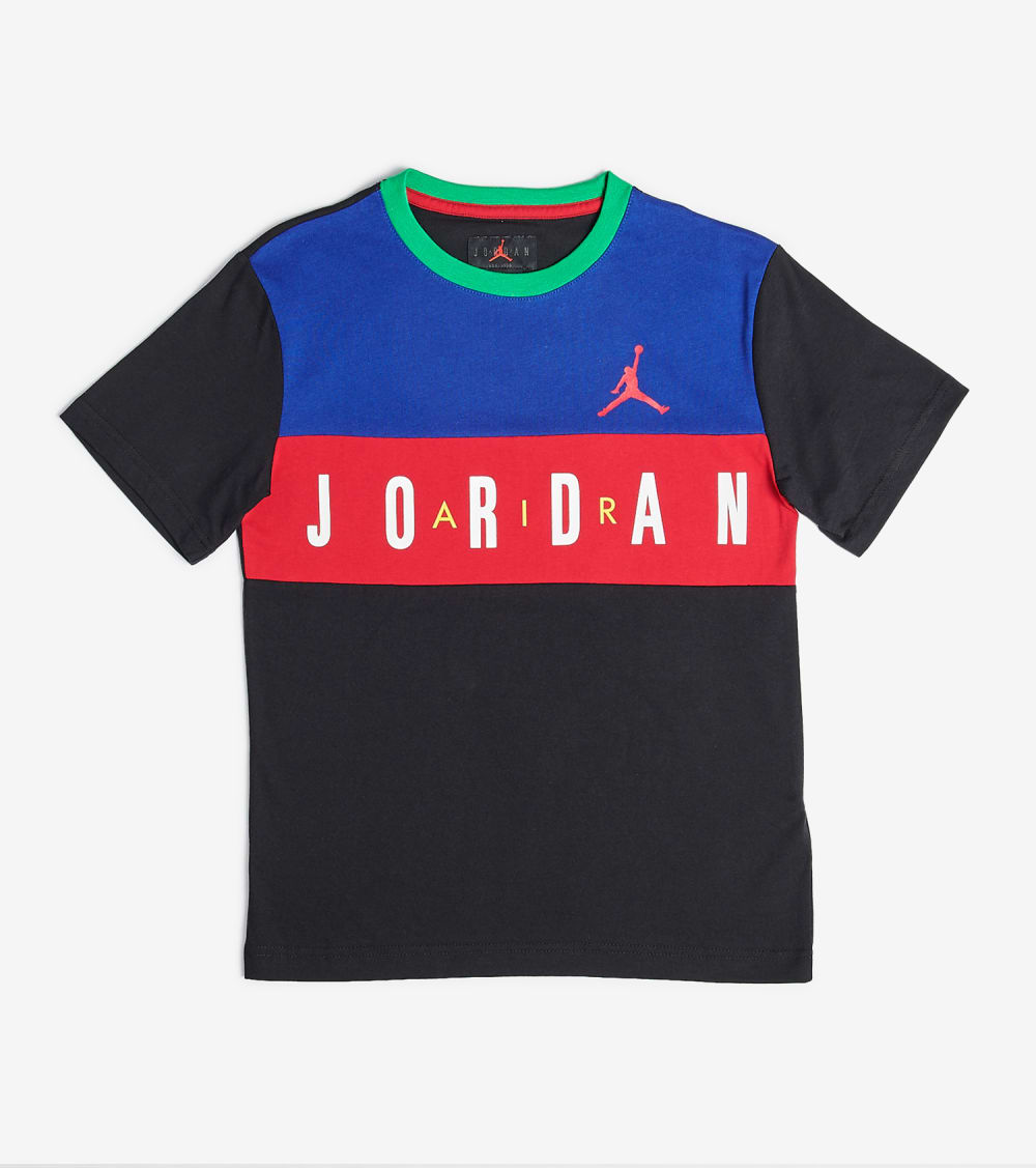 Jordan  Boys Air Jordan Tee  Multi - 95A038 -F69 | Jimmy Jazz