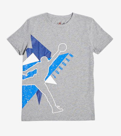Jordan  Jordan Boys Jumbo Geo Short Sleeve Tee  Grey - 95A064-GEH | Jimmy Jazz