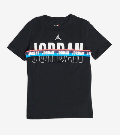 Jordan  Boys Jordan Split Decision Tee  Black - 95A066-023 | Jimmy Jazz