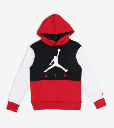 Jordan  Jordan Boys Fleece Pullover Hoodie  Red - 95A188-R78 | Jimmy Jazz