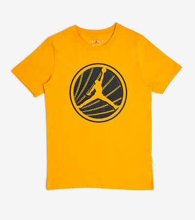Jordan  Boys Air Jordan 12 Circle Sole Tee  Gold - 95A268-Y1X | Jimmy Jazz